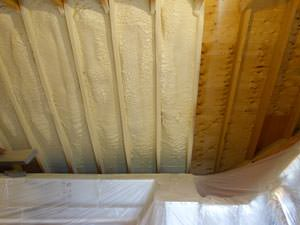 Spray Foam Insulation Installed In New Canaan