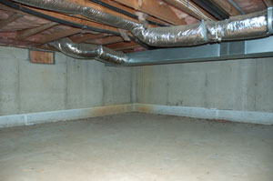 Unfinished Crawl Space In Connecticut